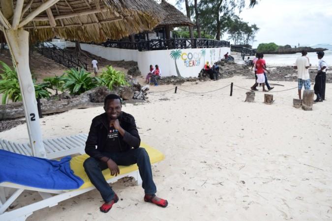 At Coco Beach, Malindi, Kenya