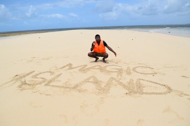 Magic Island, off the coast of Malindi, Kenya