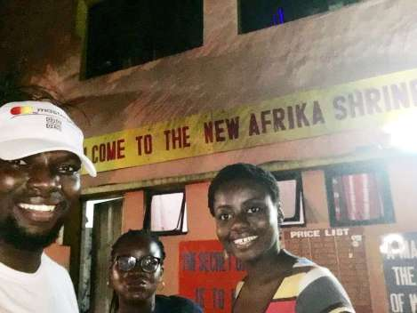 At Fela's shrine