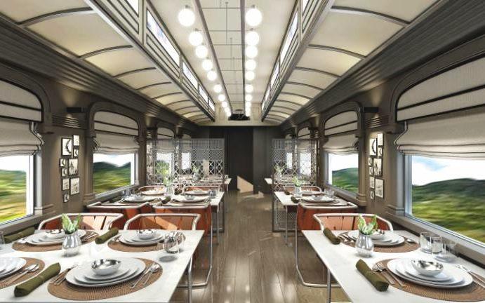 sleeper trainBelmond-Andean-Explorer-Perus-First-Luxury-Sleeper-Train-2017-one-of-the-restaurants-rendering