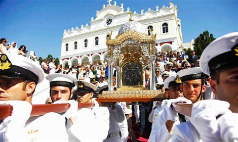 GREECE - CELEBRATE THE FEAST OF DORMITION OF THE VIRGIN MARY