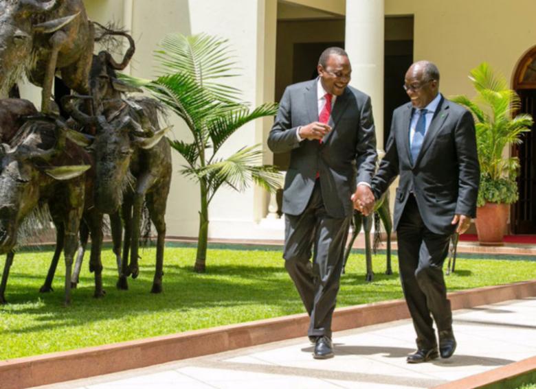 Kenya and Tanzania Presidents