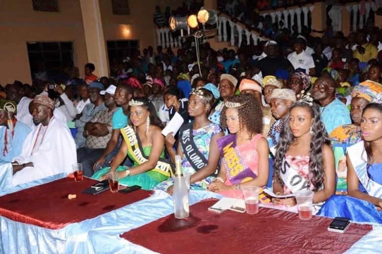 Okota festival pageant