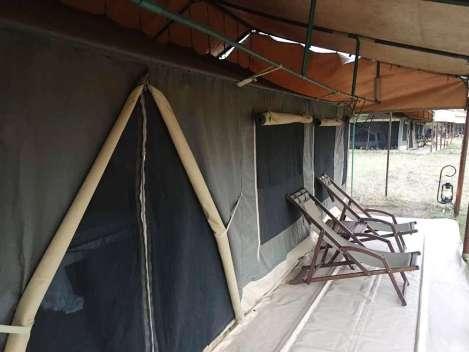 Tented Lodge within the Serengeti Park