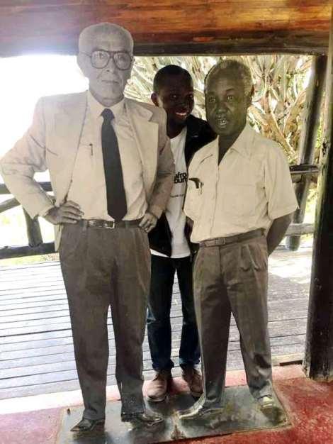 With Prof Dr Bernard Grzimek and President Julius Nyerere