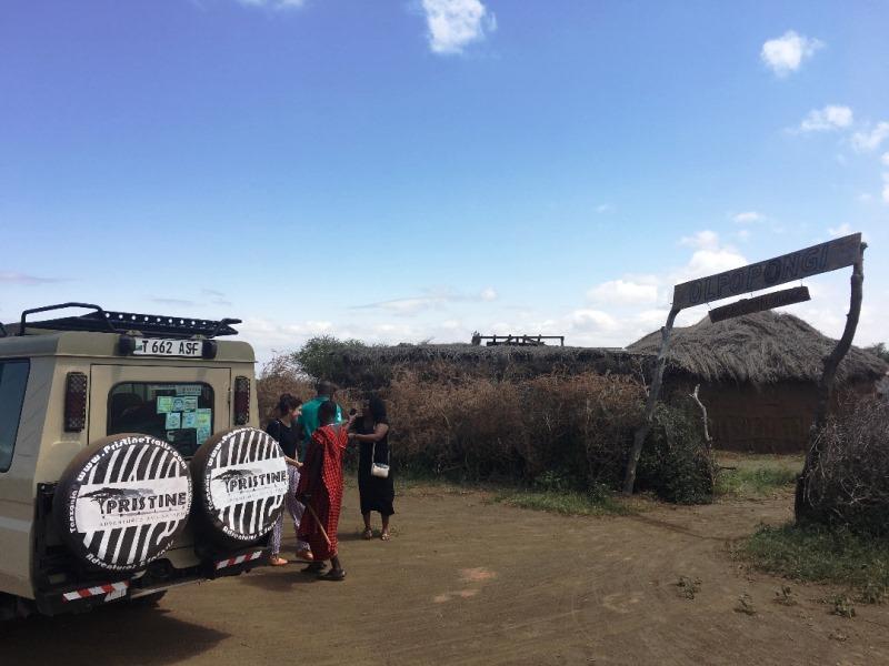 1 Arrival to Olpopongi Maasai Village