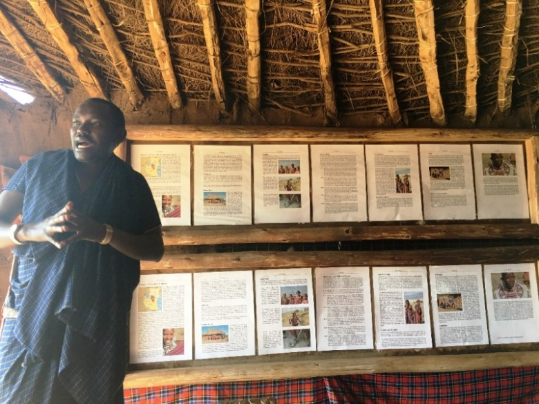 15 Eloquent and well educated Maasai tour guide