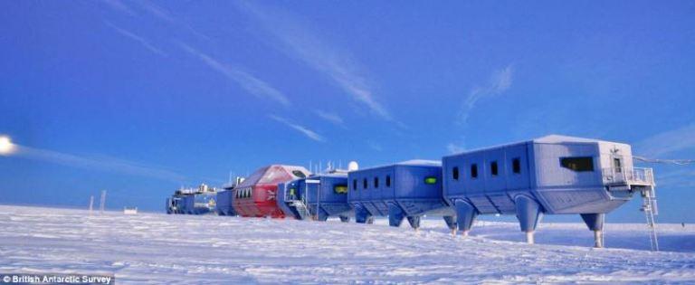 antartic - british - houses