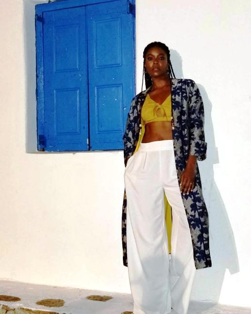 Gabrielle in Greece