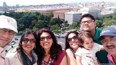 India to Spain tourism