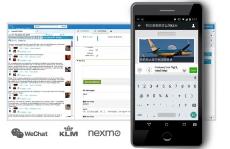 KLM-WeChat