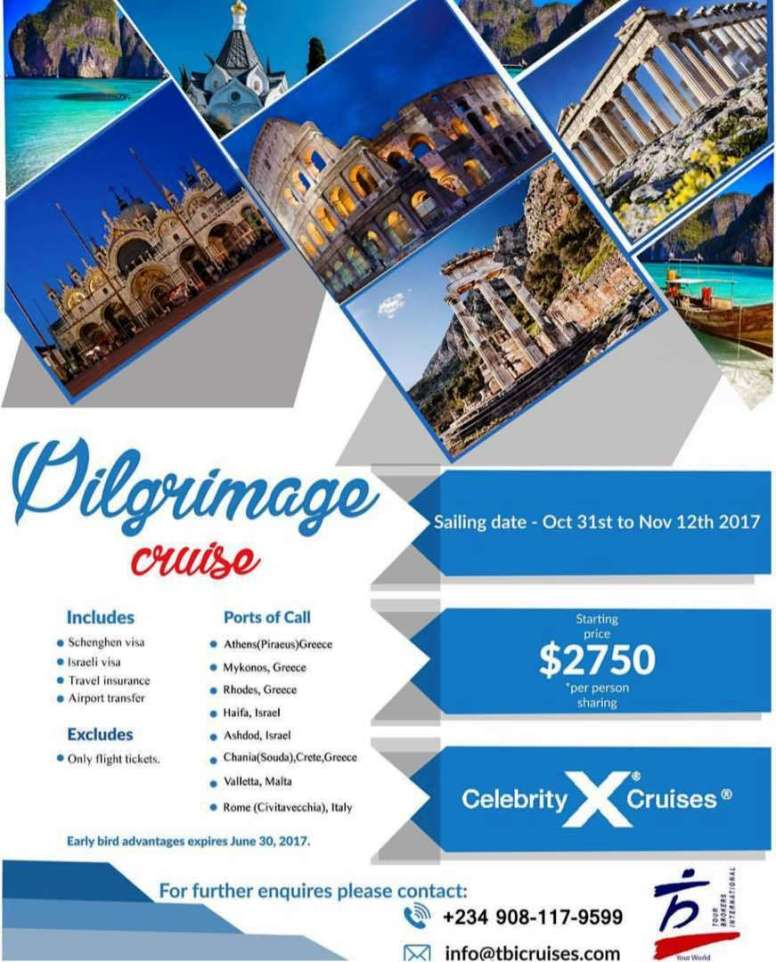 Pilgrimage package
