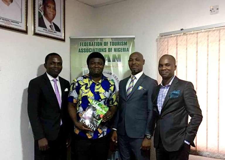 With FTAN Exec Secretary, Mr Precious Okonji