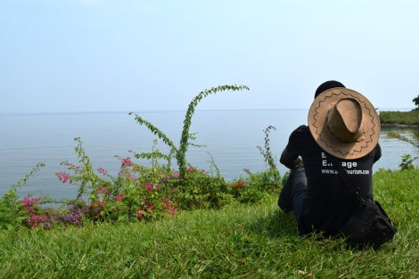 sam adeleke lake kivu rwanda