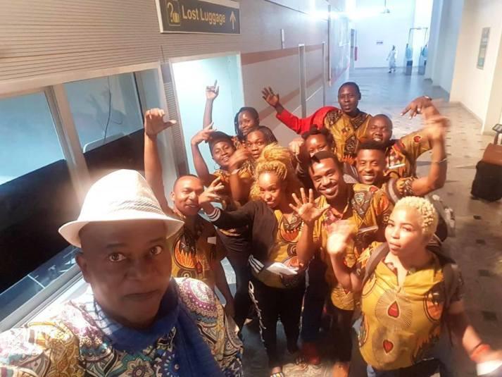 Ikechi and Tanzania delegation to Calabar Carnival