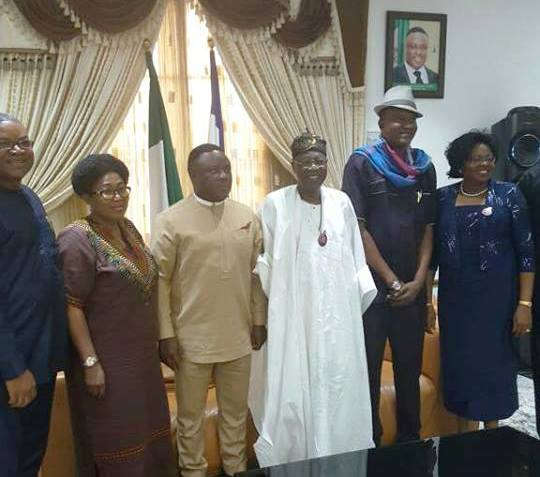 Ikechi, Gabe Onah Chairman Calabar Carnival, Lai Mohammed Nig Min of Culture and Tourism, Cross River Gov Ben Ayade