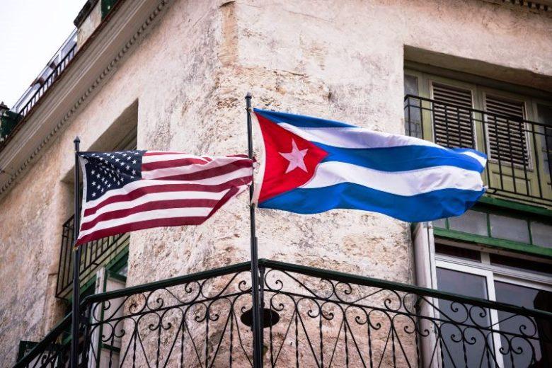 Cuba-America-flag