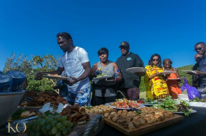 Sam Adeleke - Beach Picnic Lunch - South African Tourism