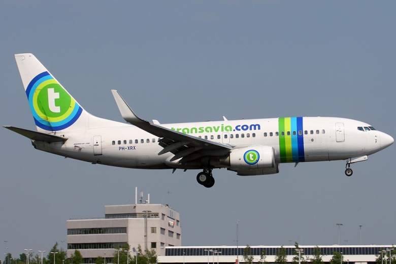transavia flight