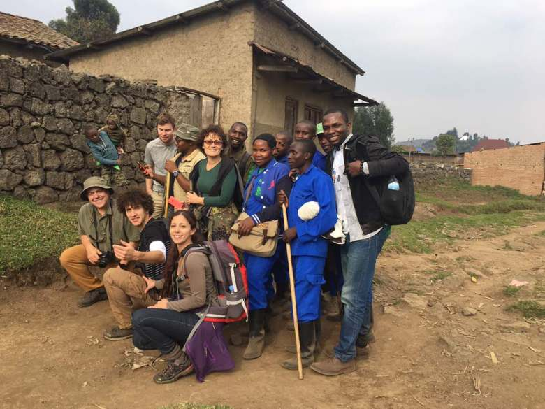 sam-adeleke-and-travel bloggers-volcanoes national park - rwanda